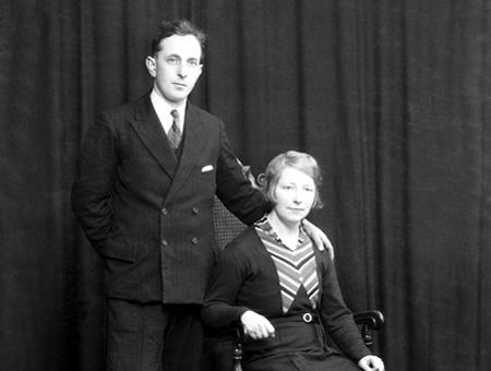 David and Minnie Sutherland