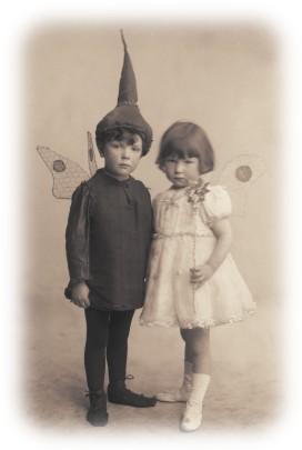 Gilmour children in fancy dress